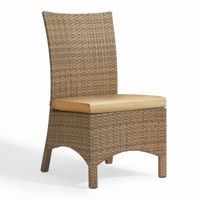 Torbay Outdoor Wicker Patio Side Chair OG-TBSCA-F