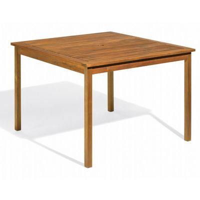 Capri Acacia Wood Square Outdoor Dining Table 42 inch OG-CP42TA