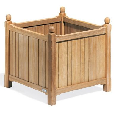 Shorea Wood English Outdoor Planter 28 inch OG-PL28