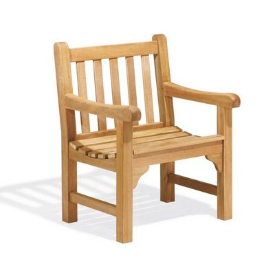 Shorea wood essex outdoor arm chair og exch cozydays for Outdoor furniture essex