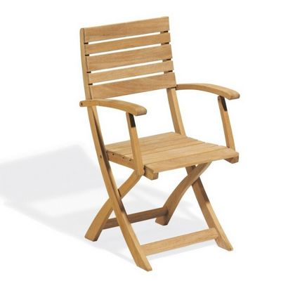 Shorea Wood Somerset Outdoor Folding Arm Chair OG-SFAC
