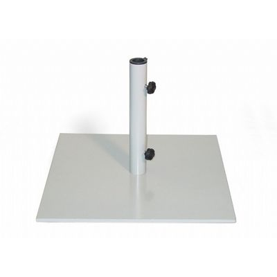 Steel Square Market Umbrella Base 40 Lbs OG-UB40G
