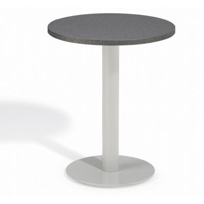 Travira Steel Alstone Graphite Top Outdoor Bistro Table 24 Inch OG-TV24TAP