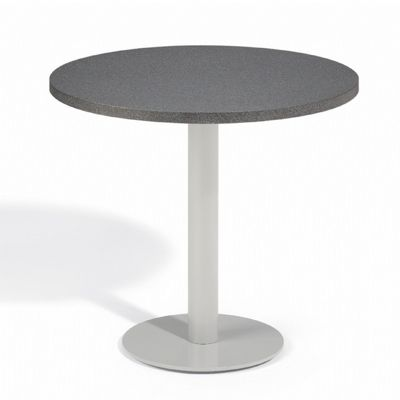 Travira Steel Alstone Graphite Top Outdoor Bistro Table 32 Inch OG-TV32TAP