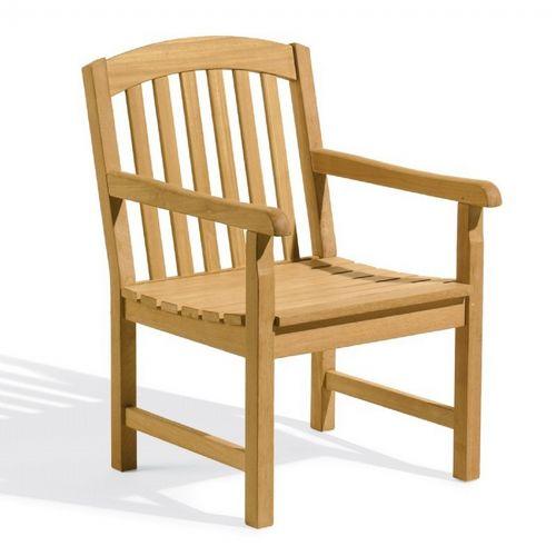 Shorea Wood Chadwick Outdoor Arm Chair Og Chch Cozydays