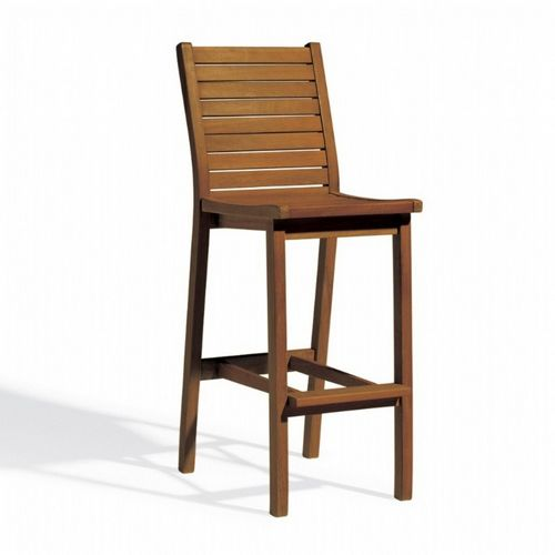 Shorea Wood Dartmoor Outdoor Bar Chair Brown Umber OG-DMCHU