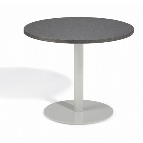 Travira Steel Alstone Graphite Top Outdoor Bistro Table 36 Inch OG-TV36TAP