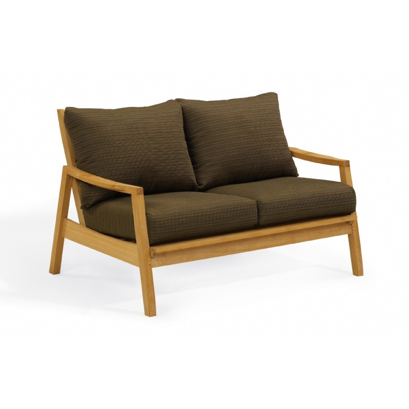 Shorea Wood Siena Outdoor Loveseat : Sofas