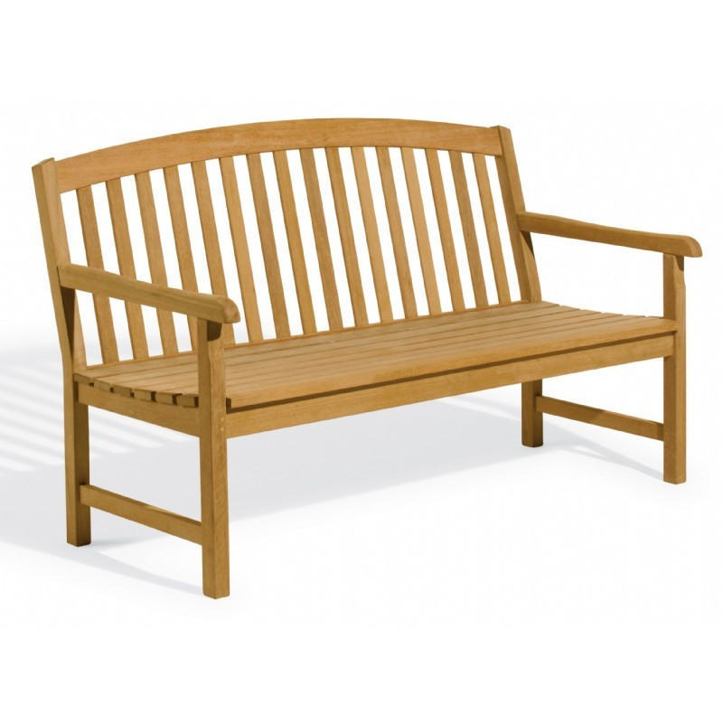 Outdoor Furniture: Oxford Garden: Shorea Wood Chadwick Outdoor Bench 5 Feet