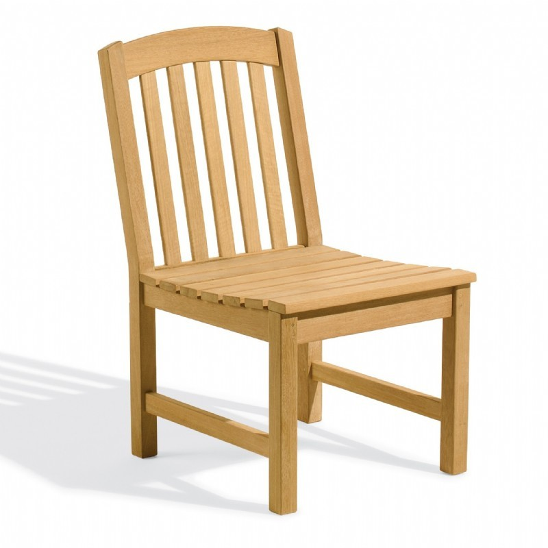 Shorea Wood Chadwick Outdoor Side Chair