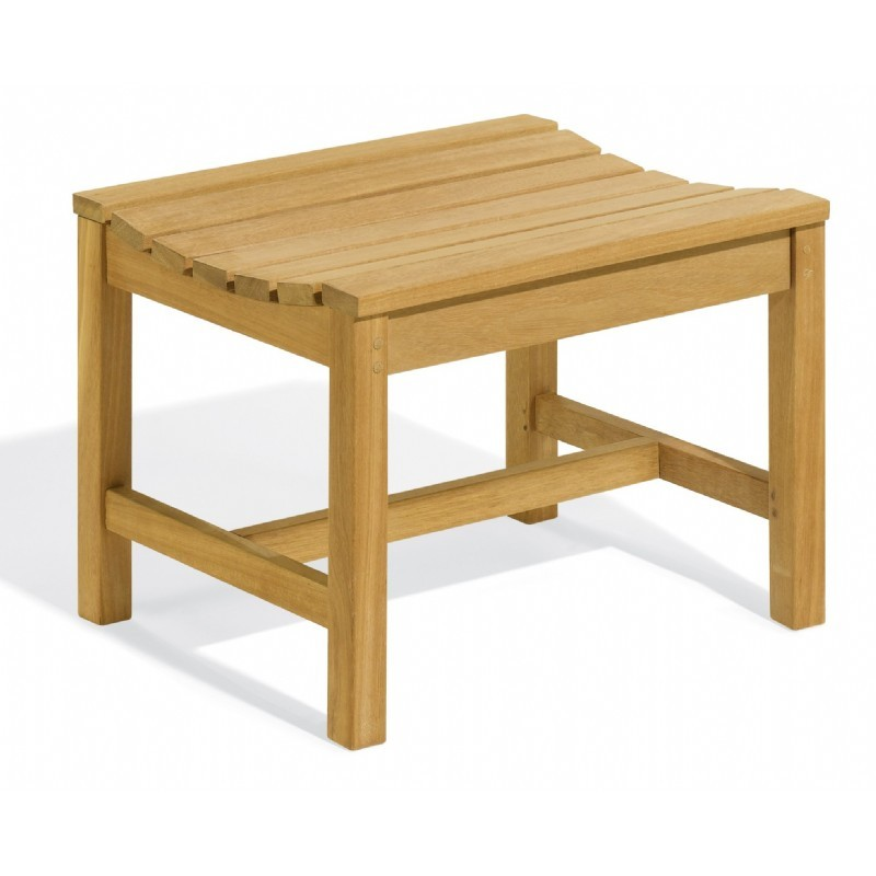 Shorea Wood Classic Backless Outdoor Bench 2 Feet