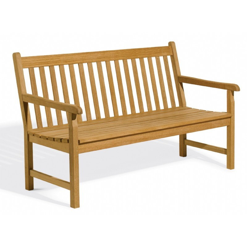 Shorea Wood Classic Outdoor Bench 5 Feet