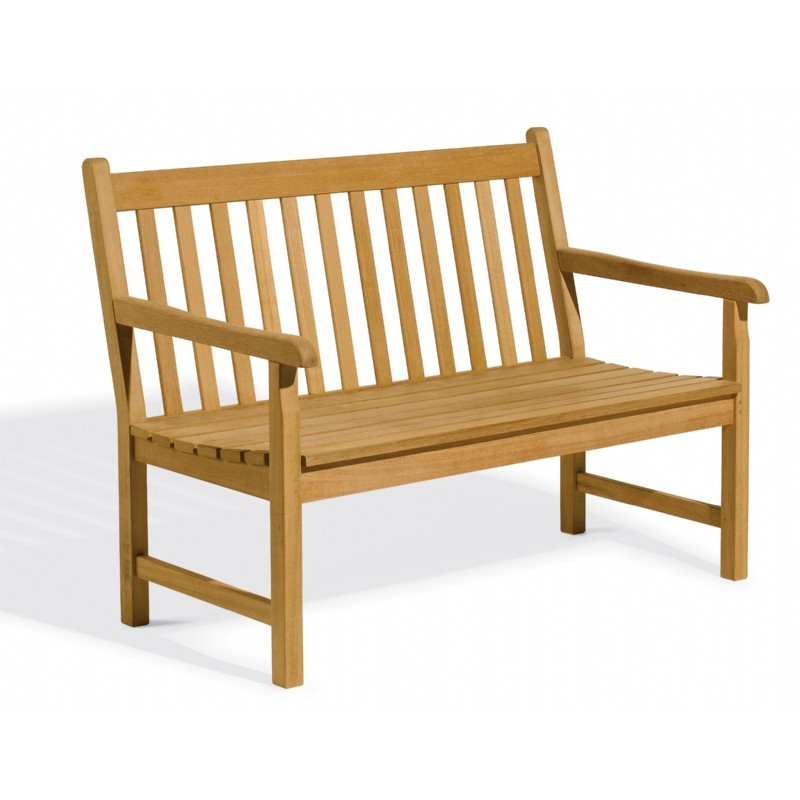 Shorea Wood Classic Outdoor Bench 4 Feet