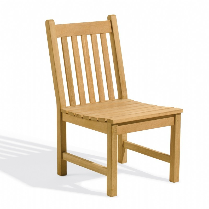 Shorea Wood Classic Outdoor Side Chair