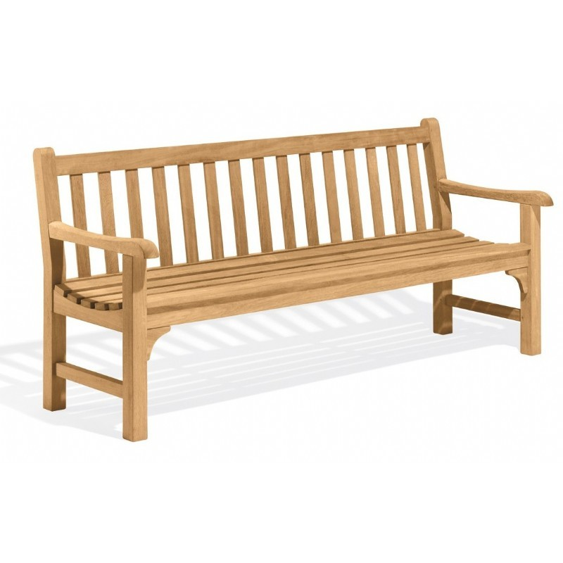 Garden Benches: Essex Wood Outdoor Garden Bench 72 inch