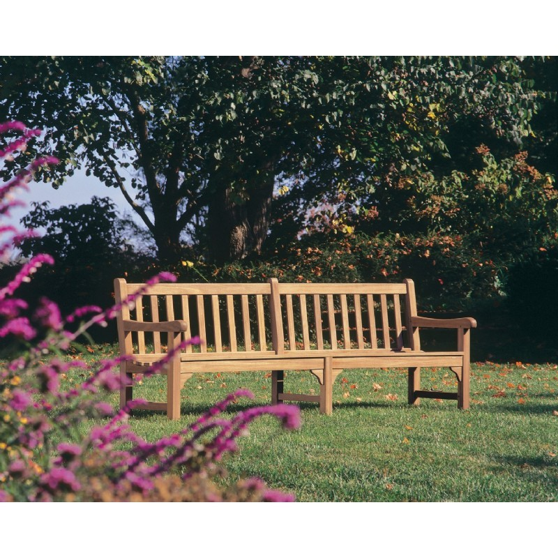 Shorea Wood Essex Outdoor Bench 8 Feet alternative photo #1