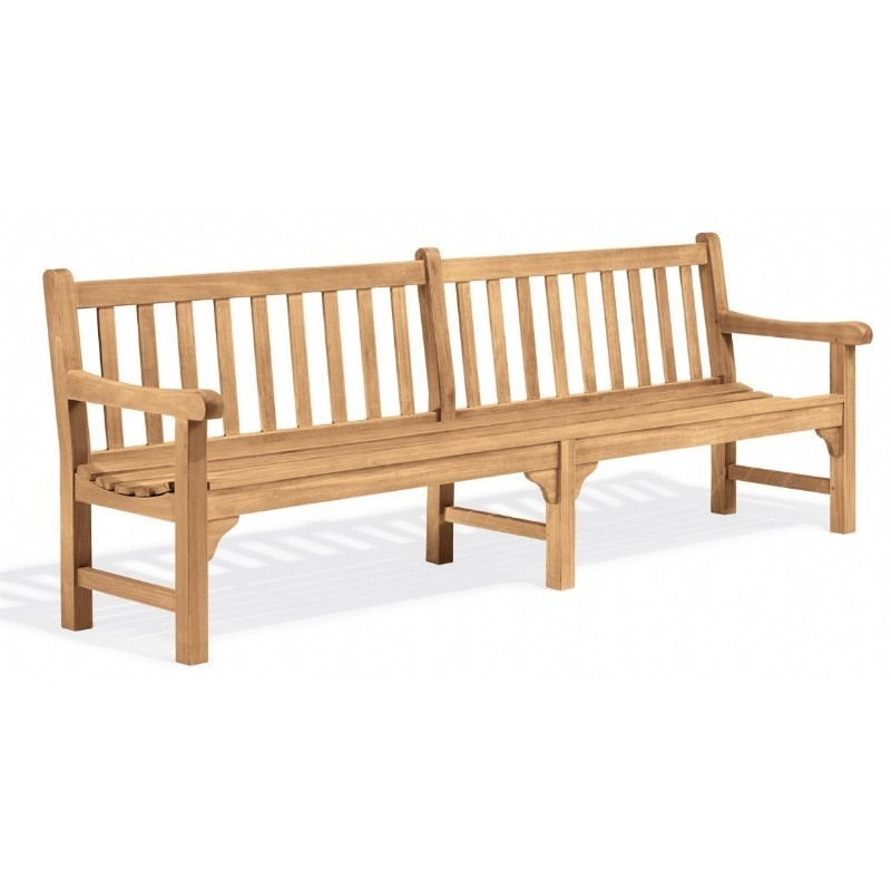 Shorea Wood Essex Outdoor Bench 8 Feet