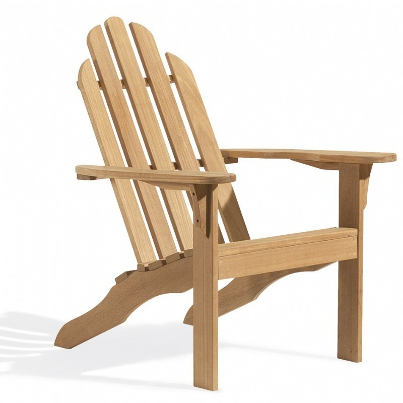 Shorea Wood Outdoor Adirondack Chair : Outdoor Chairs
