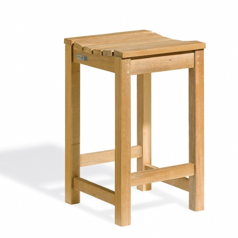 Shorea Wood Outdoor Counter Stool