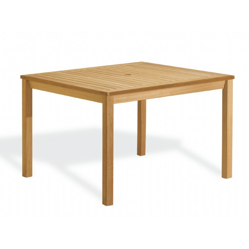 Commercial Oxford Rectangle Outdoor Dining Table 45 inch