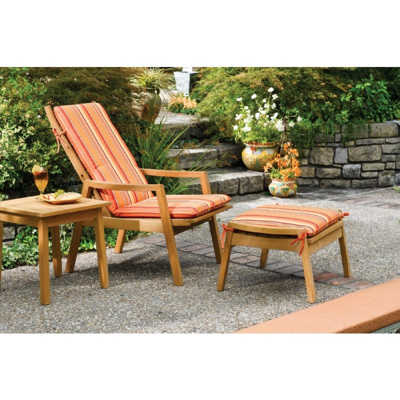Shorea Wood Siena Outdoor Reclining Chair alternative photo #1