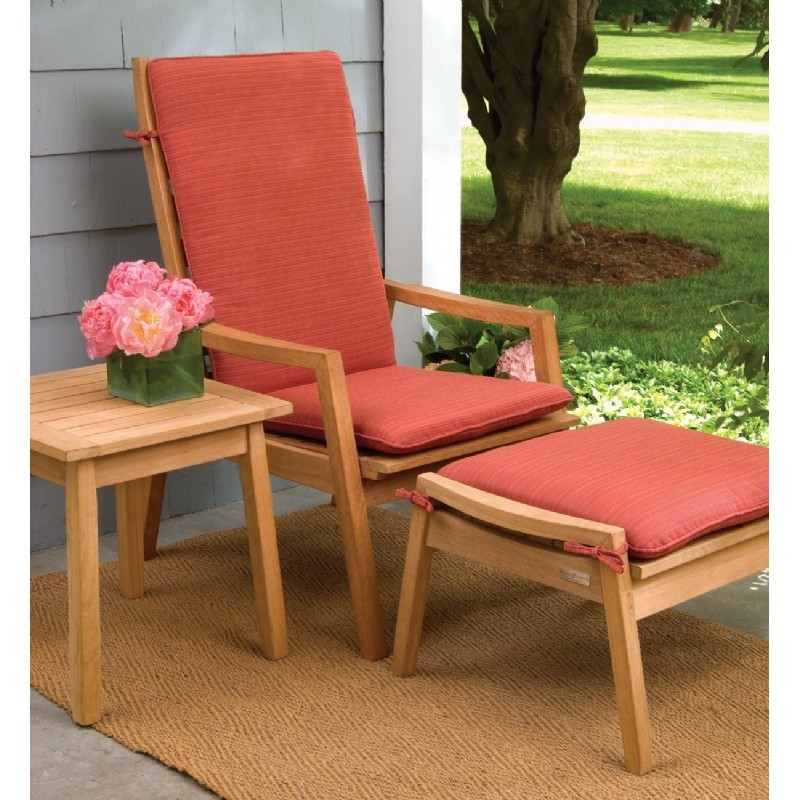 Shorea Wood Siena Outdoor Reclining Chair alternative photo #3