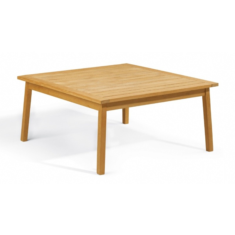 Shorea Wood Siena Square Outdoor Chat Table