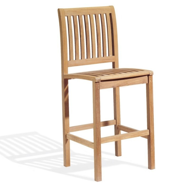 Shorea Wood Sonoma Outdoor Bar Chair