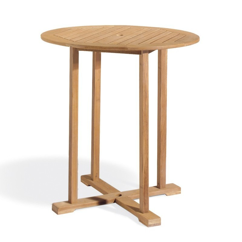 Shorea Wood Sonoma Outdoor Bar Table 36 Inch