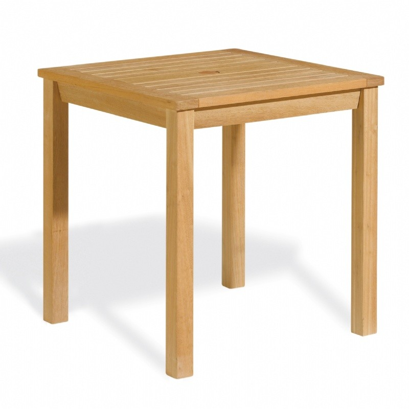 shorea wood square outdoor dining table 28x28 inch