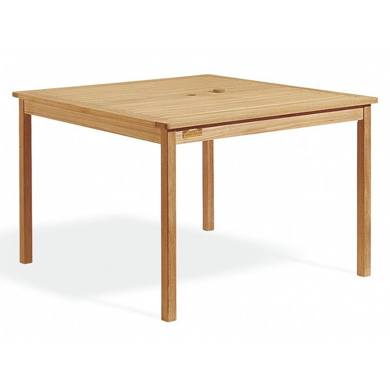 Shorea Wood Square Outdoor Dining Table 42 inch