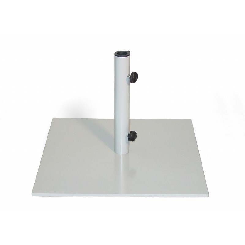 Steel Square Market Umbrella Base 40 Lbs