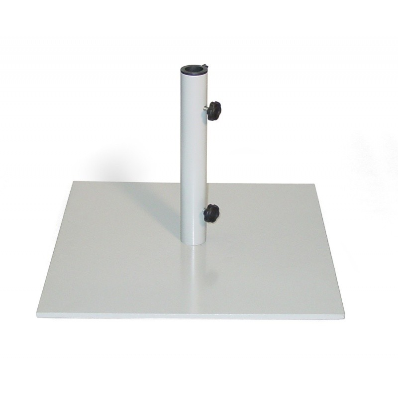 Steel Square Market Umbrella Base 70 Lbs
