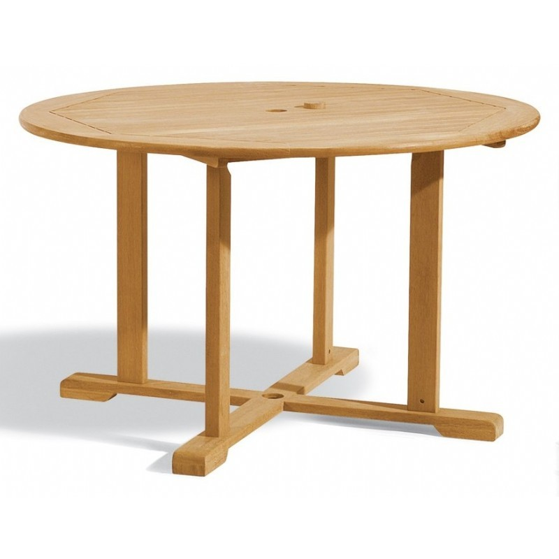 Shorea Wood Round Outdoor Dining Table 48 inch