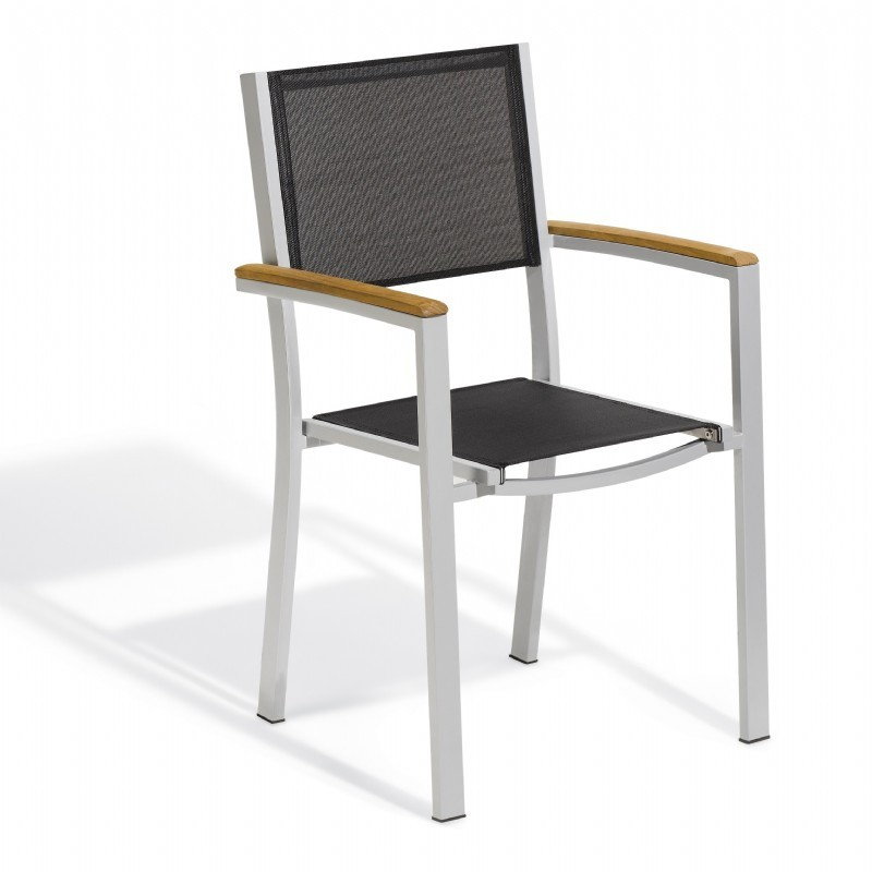 Travira Sling Dining Chair Black