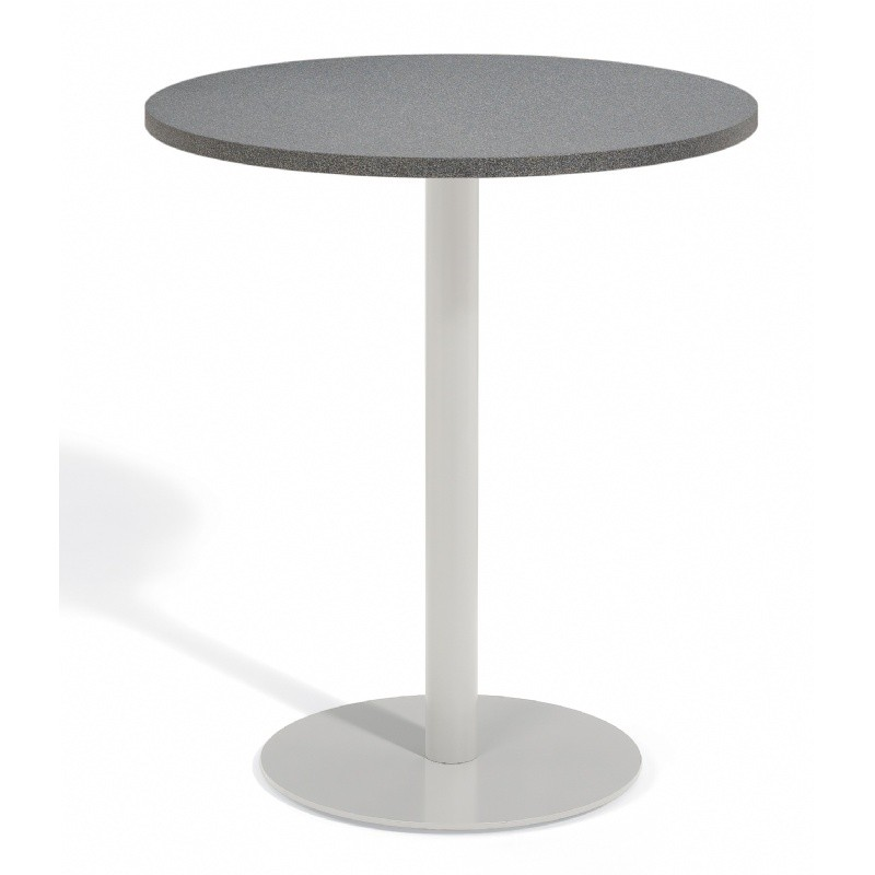 Travira Steel Alstone Graphite Top Outdoor Bar Table 36 Inch