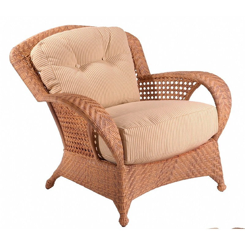 Boca Outdoor Wicker Club Chair : Patio Chairs