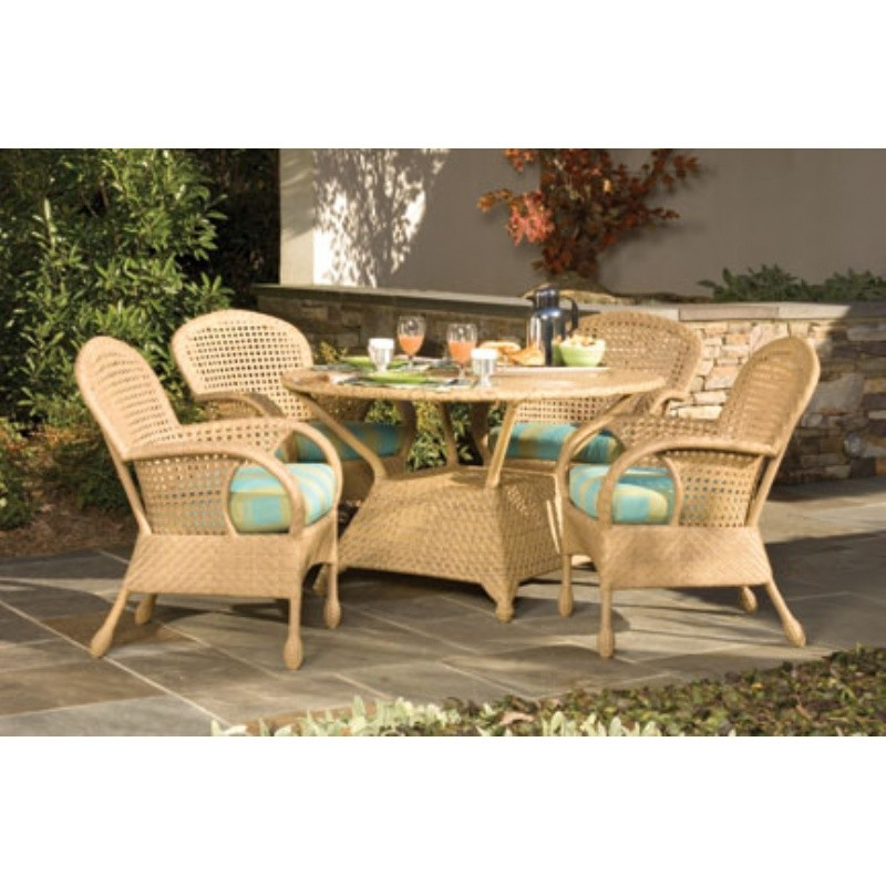 Boca Outdoor Wicker Dining Set 5 Piece
