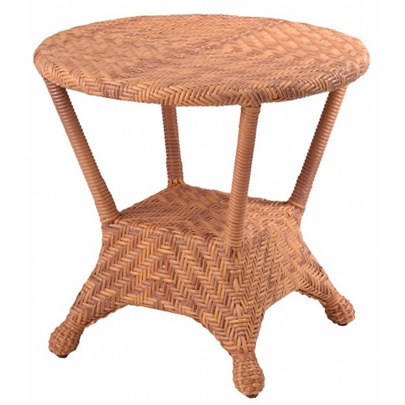 Boca Outdoor Wicker End Table