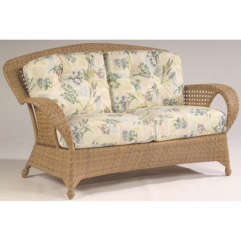 Boca Outdoor Wicker Love Seat : Patio Chairs