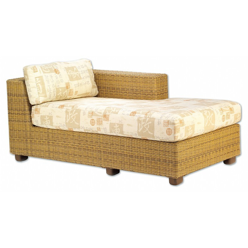 Montecito Outdoor Wicker Chaise Sectional Left Arm