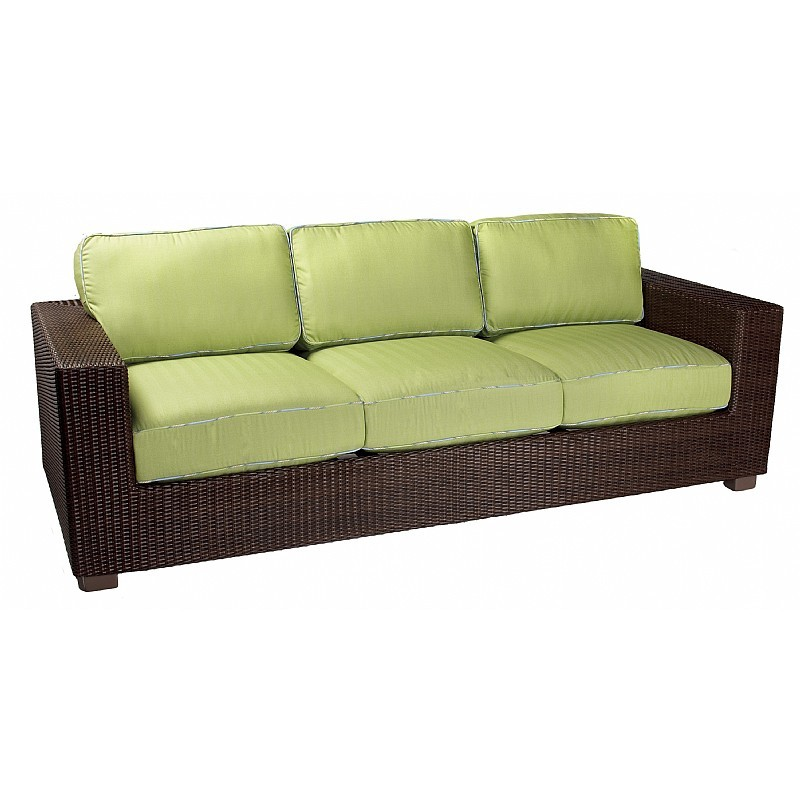 Montecito Outdoor Wicker Sofa : Patio Chairs