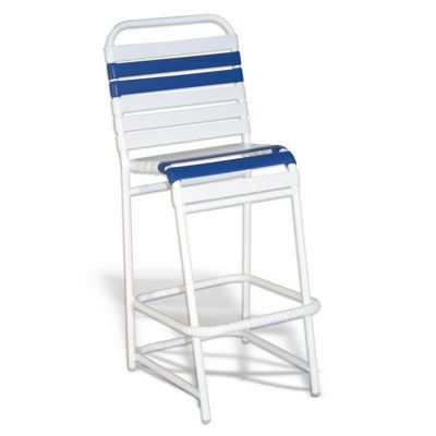 Strap Patio Bar High Chair White SFU-575-201