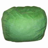 Fun Furnishings Lime Green Micro Suede Large Beanbag FF-41205