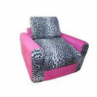 Fun Furnishings Pink Leopard Chair Sleeper FF-20208