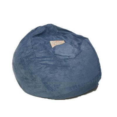 Fun Furnishings Blue Micro Suede Small Beanbag FF-30231