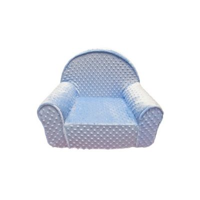 Fun Furnishings Blue Minky Dot My First Chair FF-60318