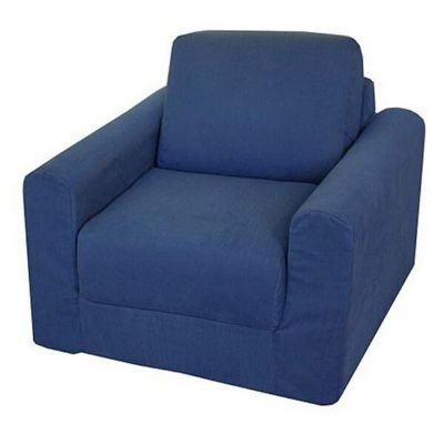 Fun Furnishings Denim Chair Sleeper FF-20101