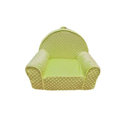 Fun Furnishings Green Minky Dot My First Chair FF-60319