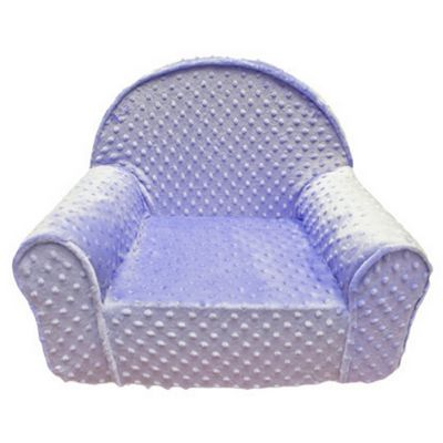 Fun Furnishings Lilac Minky Dot My First Chair FF-60320